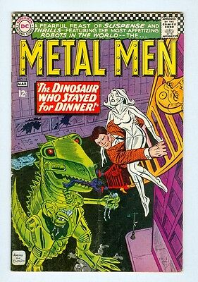 Metal Men #18 March 1966 VG The Dinosaur Who Stayed For Dinner