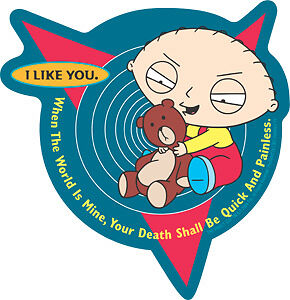 family guy sticker i like you