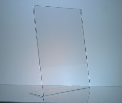 """(50) 5"""" x 7"""" Acrylic Sign Display / Picture Frame"""