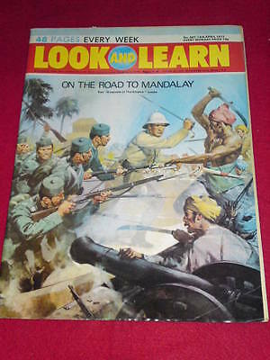LOOK and LEARN # 587 - ROAD TO MANDALAY - April 14 1973