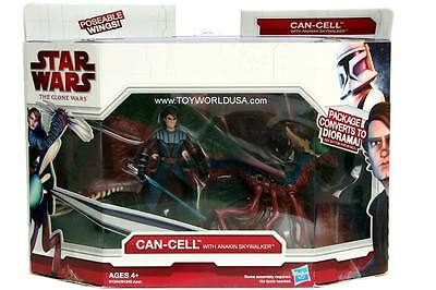 2009 Star Wars The Clone Wars Can-Cell with Anakin Skywalker