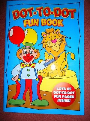 Dot-To-Dot Book - Lots Of Fun - Brand New