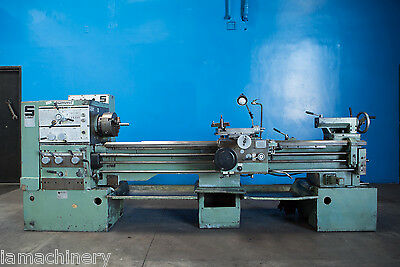 "16""/24"" Swing x 80"" Center Summit Engine Lathe Taper Metal Turning Machine"