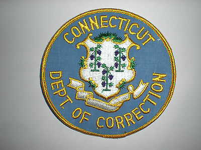 Connecticut Department Of Corrections Patch
