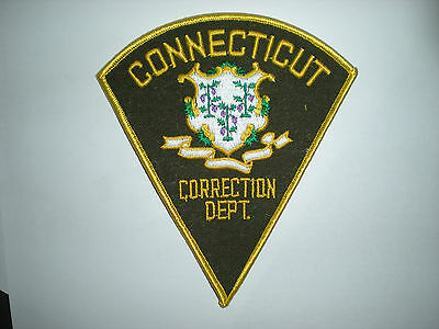 Connecticut Correction Department Patch