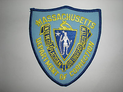 Massachusetts Department Of Correction Patch