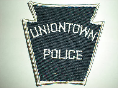 Uniontown, Pennsylvania Police Department Patch