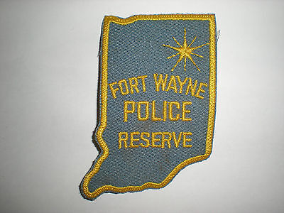 Fort Wayne, Indiana Police Department Reserve Patch