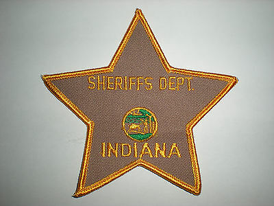 Blank Indiana Sheriff's Department  Patch