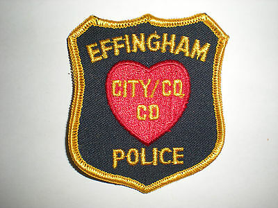 Effingham, Illinois Police Department Patch