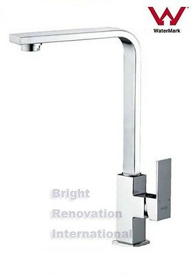 New Square Cooby Wide WELS Bathroom Sink laundry Flick Mixer Tap Faucet