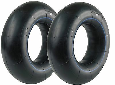 WHEELBARROW TRAILER INNER TUBE 350/400 8 3.50 x 8 4.00 x 8 STRAIGHT VALVE PAIR