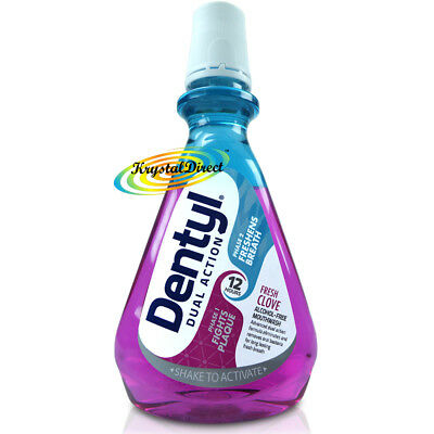 Dentyl Active Alcohol Free Mouthwash Fresh Clove 500ml Plaque Fighter