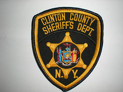 Clinton County, New York Sheriff's Department Patch