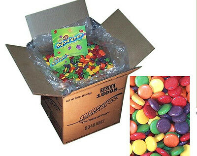 CHEWY SPREE 3 POUND FRUIT FLAVORED CANDY Nestle Willy Wonka bulk vending bag lb