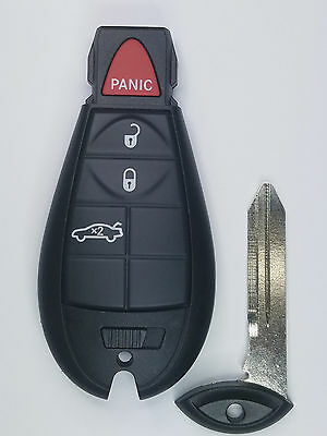 2008-2014 Oem Dodge Remote Keyless Entry Fobik Smartkey