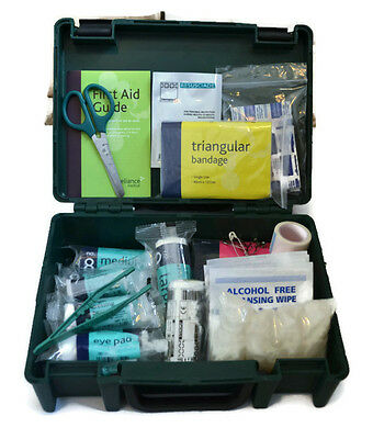 Wall Mountable First Aid Kit - HSE - Small 1 -10 People Workplace Case
