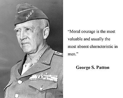 General George S. Patton World War 2 WWII  Quote  8 x 10 Photo Picture #hb1