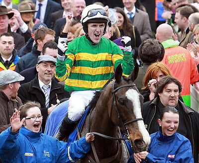 Tony McCoy Wins the Cheltenham Gold Cup Synchronised 10x8 Photo #2