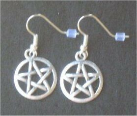 PENTAGRAM Pentacle Earrings - FReE PoST