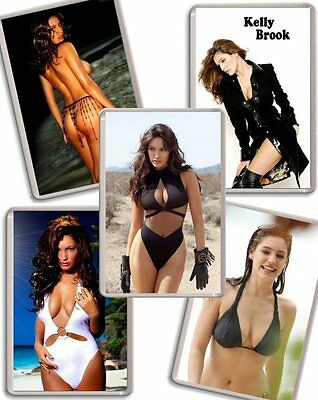 Kelly Brook Fridge Magnet Chose from 24 designs FREE POSTAGE