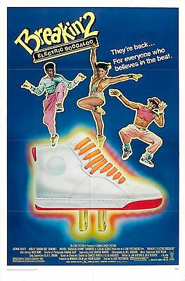 BREAKIN 2 ELECTRIC BOOGALOO Movie Poster Hip-Hop Rap
