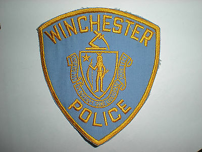 Winchester, Massachusetts Police Department  Patch