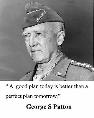General George S.  Patton World War 2 WWII Quote 8 x 10 Photo Picture #nq1