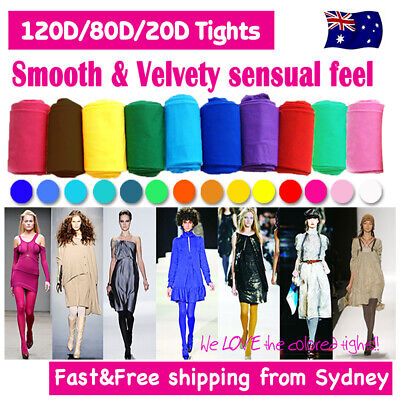 Tights Pantyhose OPAQUE 80D 120D 150D Sheer 20D Stocking Hosiery for Costume