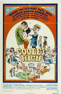 COOLEY HIGH Movie Poster Blaxploitation Exploitation