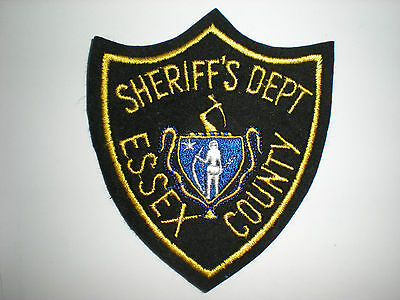 Essex County, Massachusetts Sheriff's Department Patch
