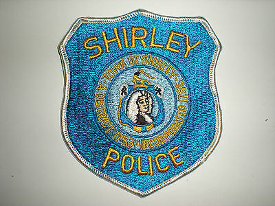 Shirley, Massachusetts Police Department Patch