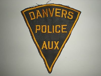 Danvers, Massachusetts Police Department Auxiliary Patch