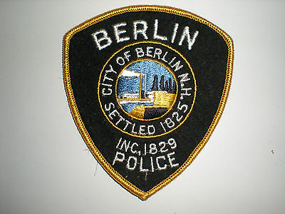 Berlin, New Hampshire Police Department Patch