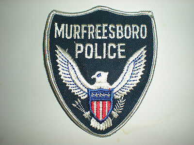Murfreesboro, Tennessee Police Department Patch