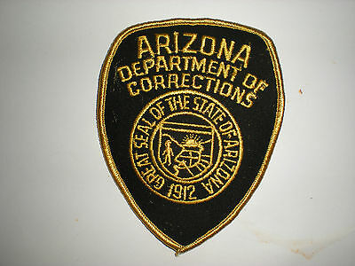 Arizona State Department Of Corrections Patch