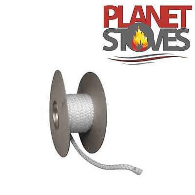 Stove Rope / Gasket Seal for Flues Woodburner Stoves Door & Glass Fire Seals