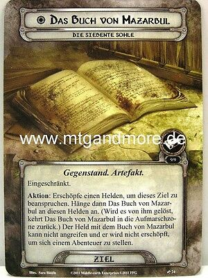 Lord of the Rings LCG - 1x Das Buch von Mazarbul  #024 - Khazad-Dum