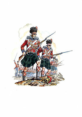 The Black Watch 42nd Regiment of Foot 1815 Edition limited to 100