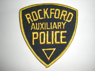 Rockford, Illinois Police Department Auxiliary Patch