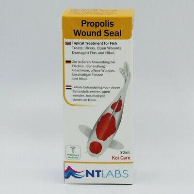NT Labs Koi Care Propolis Spray 30ml For Ulcers and Wounds Fish Treatment