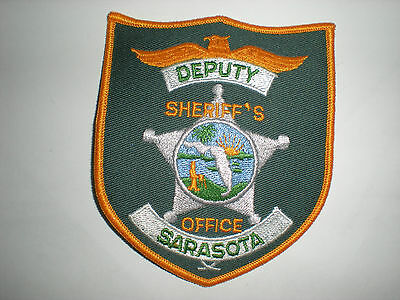 Sarasota, Florida Sheriff's Department Deputy Patch.
