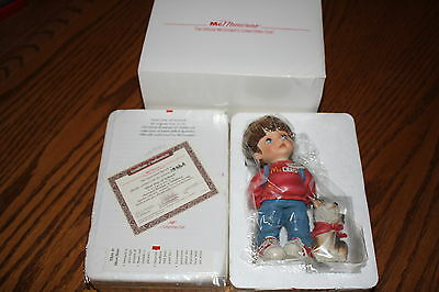 "Official Mc Donalds Collectible Memories ""First Day of School"" New w COA Mc KIDS"