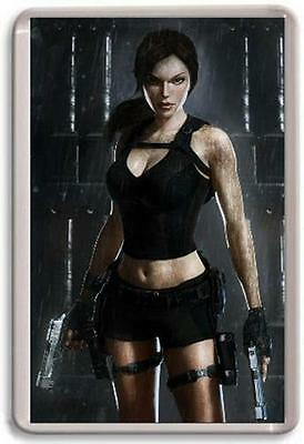 Lara Croft Tomb Raider Fridge Magnet