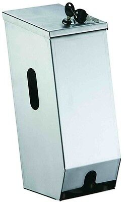 DoubleToilet Roll Dispenser Top Quality Stainless Steel