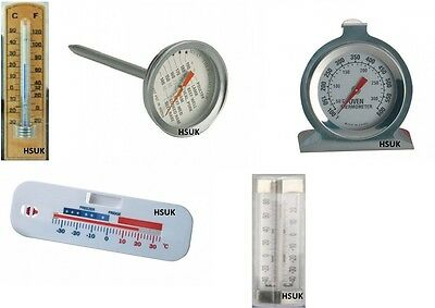 Wall Mounting - Meat Oven Fridge Or Freezer Thermometer Poultry Temperature Dial