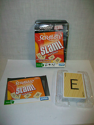 Pre-Owned SCRABBLE SLAM! Card Game by Parker Brothers Complete