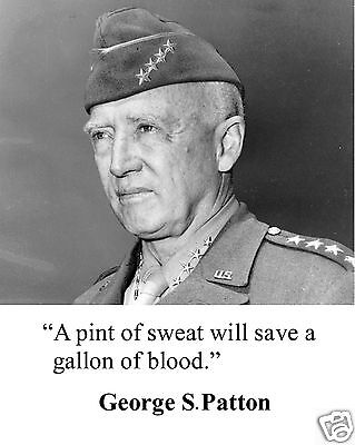 General George S. Patton World War 2 WWII Quote 8 x 10 Photo Picture #pd1