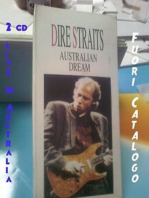 DIRE STRAITS - AUSTRALIAN DREAM - 2 CD LONGBOX N° 606 - CON SIAE No CDR - RARO!!