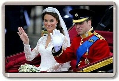 William and Kate Fridge Magnet #4 royal wedding